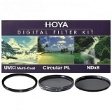 Светофильтр HOYA 49mm DIGITAL FILTER KIT: UV (C) HMC MULTI, PL-CIR, NDX8