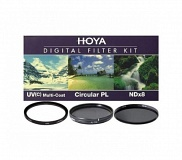 Светофильтр HOYA 55mm DIGITAL FILTER KIT: UV (C) HMC MULTI, PL-CIR, NDX8