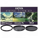 Светофильтр HOYA 67mm DIGITAL FILTER KIT: UV (C) HMC MULTI, PL-CIR, NDX8