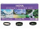 Светофильтр HOYA 62mm DIGITAL FILTER KIT: UV (C) HMC MULTI, PL-CIR, NDX8